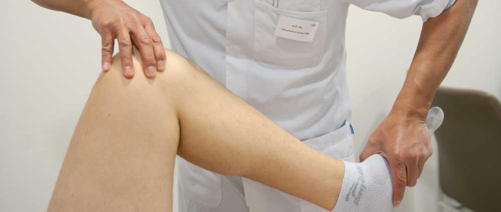Pijnlijke of instabiele knie